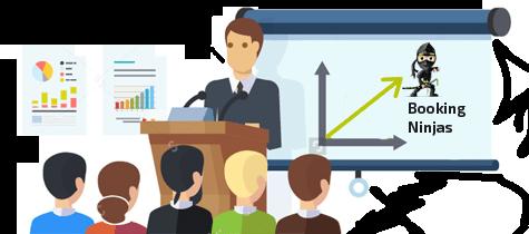 Process on Bookingninjas Property Menegment System